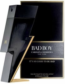 Tualetes ūdens Carolina Herrera Bad Boy 50ml EDT