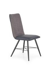 Ēdamistabas krēsls Halmar K - 289 Light Grey/Dark Grey