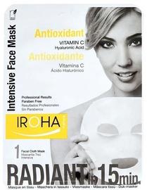Sejas maska Iroha Nature Intensive Antioxidant Tissue Face Mask Vitamin C, 23 ml