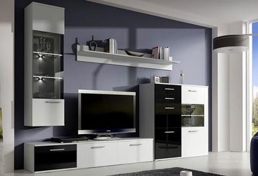 Idzczak Meble Bellano Lux Wall Unit Black/White