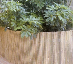 Garden Center Bamboo Fence Brown 1000x150mm