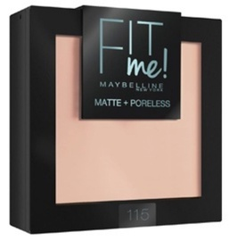 Пудра Maybelline Fit Me Matte And Poreless 115 Ivory, 9 г