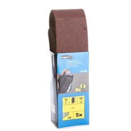 Slīpēšanas lente Vagner SDH 115.09, G120, 457x75 mm, 5 gab.
