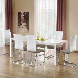 Pusdienu galds Halmar Stanford XL White, 1300 - 2500x800x760 mm
