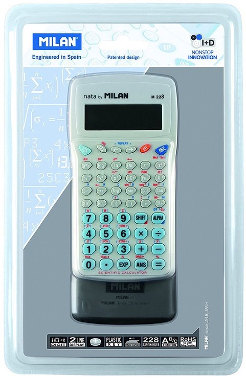 Milan Blister 228 Functions Scientific Calculator 159005BL