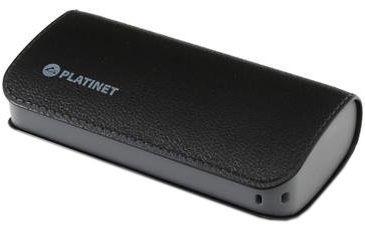 Ārējs akumulators Platinet Luxury Leather Black, 5200 mAh