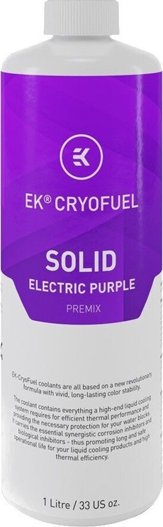 EK Water Blocks EK-CryoFuel Solid Electric Purple (Premix 1000mL)