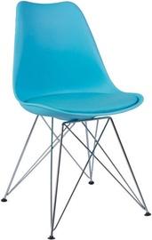 Ēdamistabas krēsls Signal Meble Tim Blue, 1 gab.