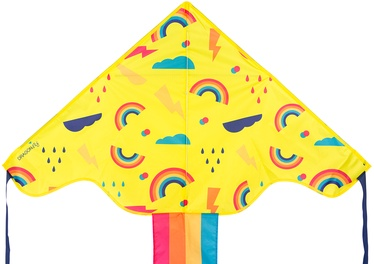 Toy Kite 51WH 200x100cm Yellow/Multicolor