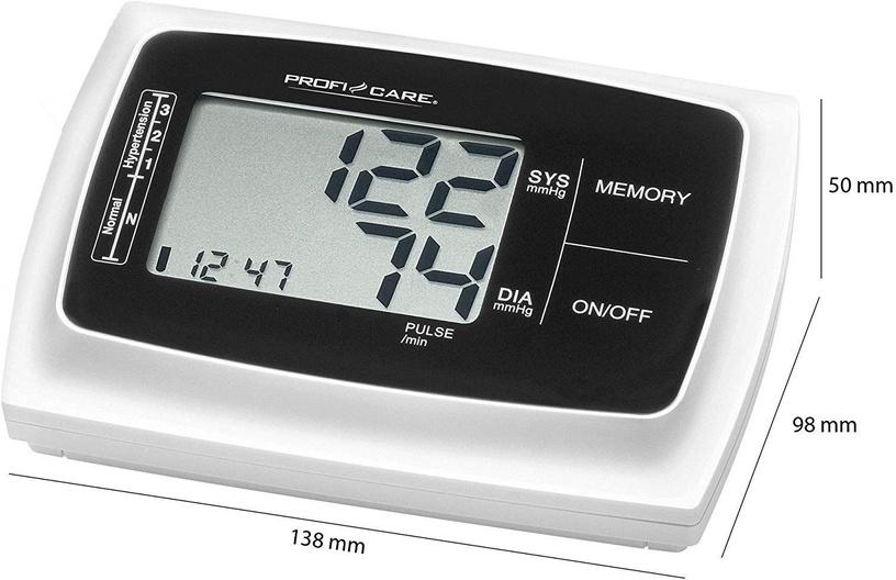 Asinsspiediena mērītājs ProfiCare PC-BMG 3019, Balta