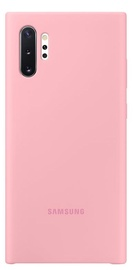 Samsung Silicone Back Case For Samsung Galaxy Note 10 Plus Pink