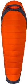 Guļammaiss Marmot Trestles Elite Eco 0 Orange Haze/Dark Steel, kreisais, 198 cm