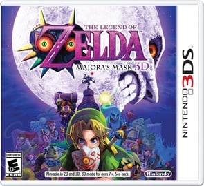 Legend Of Zelda Majoras Mask 3D 3DS