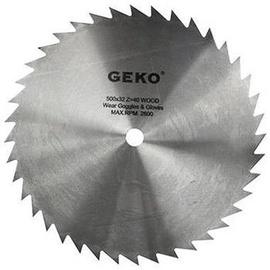 Geko Circular Saw Blade For Wood 500x32x40T
