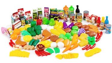 EcoToys Plastic Vegetables Fruit Kitchen Toys 120pcs