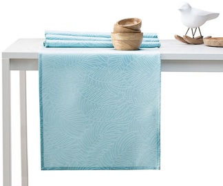 AmeliaHome Gaia AH/HMD Tablecloth Retro Blue 40x140cm