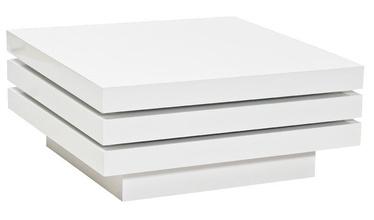 Kafijas galdiņš Signal Meble Trista White, 800x800x420 mm