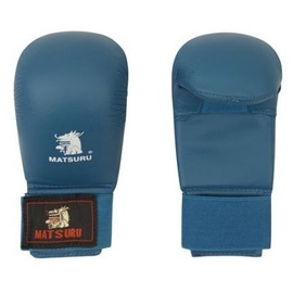 Matsuru Karate Gloves M Blue