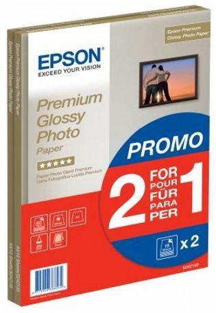 Фотобумага Epson C13S042169 A4 Glossy 15 2-pack