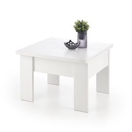 Журнальный столик Halmar Serafin White, 800 - 1600x800x530 - 790 мм