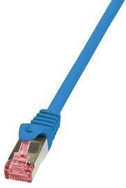 LogiLink CAT 6a S/FTP Cable Blue 10m