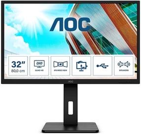 """Monitors AOC Q32P2, 31.5"""", 4 ms"""