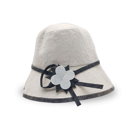 Flammifera Sauna Hat with Ribbon