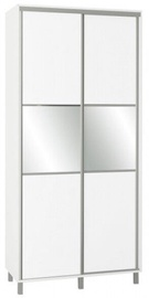 Skapis Bodzio Sliding Wardrobe, balta, 100x60x210 cm