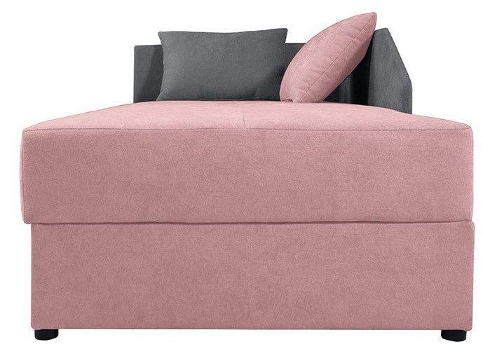 Dīvāngulta Black Red White Kelo Pink/Grey, 204 x 95 x 80 cm