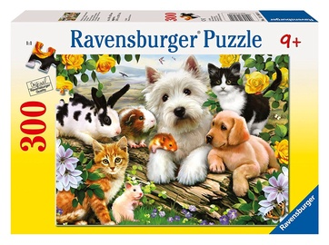 Ravensburger Puzzle Happy Animal Buddies 300pcs 13160