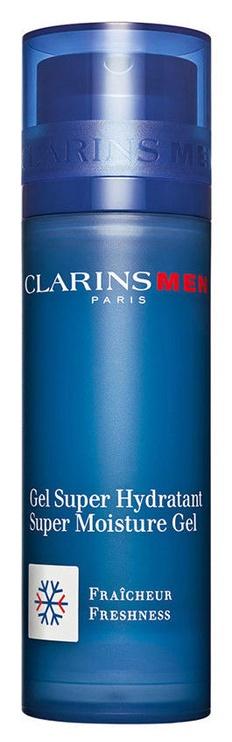 Крем для лица Clarins Men Super Moisture Gel Freshness, 50 мл