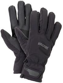 Marmot Gloves Glide Softshell Black L