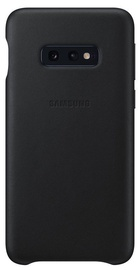 Samsung Leather Cover For Samsung Galaxy S10e Black
