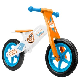 """Līdzsvara velosipēds Disney 9911, zila/balta/oranža, 12"""""""