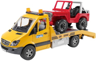 Bruder MB Sprinter With Cross Country Vehicle 02535