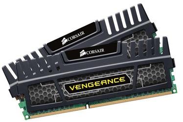 Operatīvā atmiņa (RAM) Corsair Vengeance Black CMZ8GX3M2A1600C9 DDR3 (RAM) 8 GB