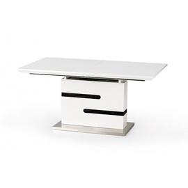 Pusdienu galds Halmar MONACO White/Grey, 1600 - 2200x900x760 mm