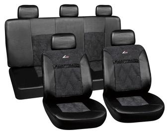 Autoserio Seat Cover Set AG-28680/1 8pcs Black