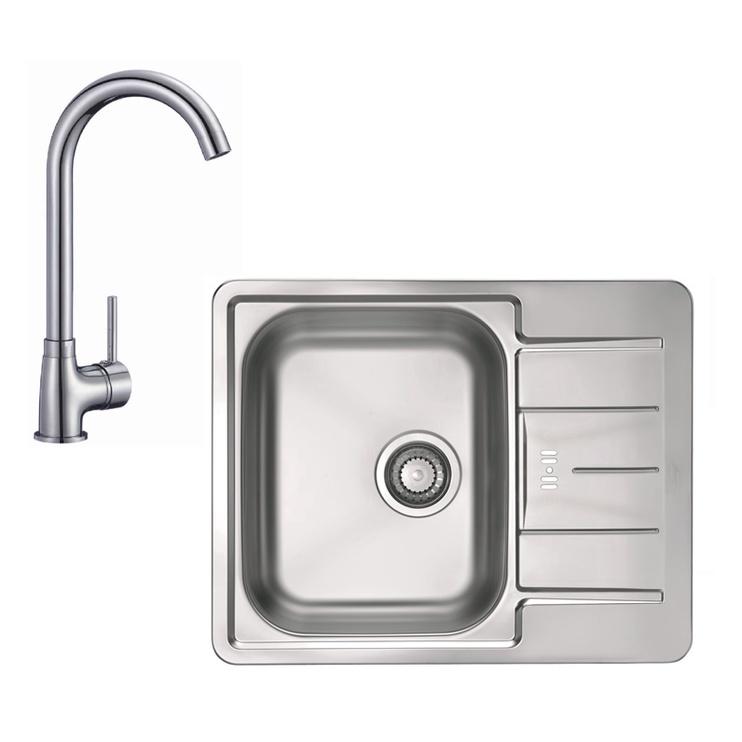 Alveus Line 60 Sink with Mixer