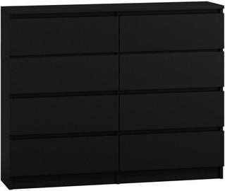 Комод Top E Shop Malwa M8 Black, 120x40x97 см