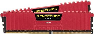 Operatīvā atmiņa (RAM) Corsair Vengeance LPX Red CMK8GX4M2A2666C16R DDR4 8 GB CL16 2666 MHz