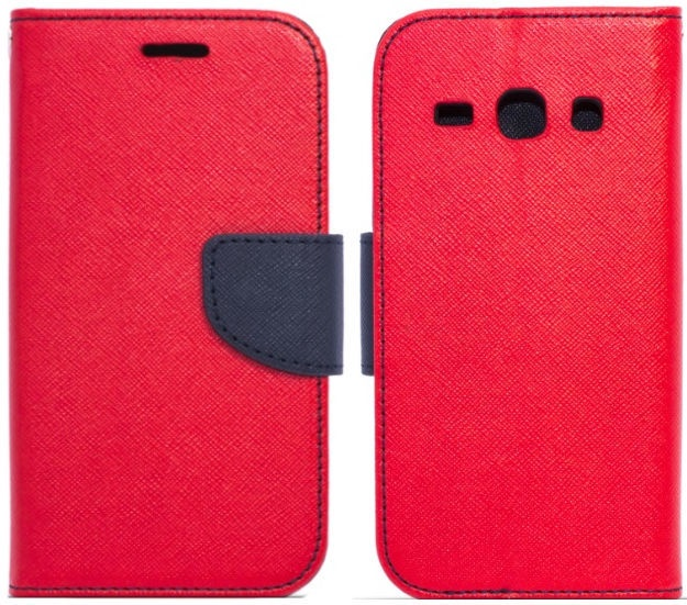 TakeMe Fancy Diary Bookstand Case For LG K10 2018 Red/Blue