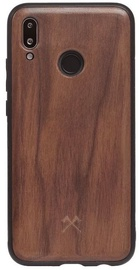 Woodcessories Bumper Back Case For Huawei P20 Lite Walnut/Black
