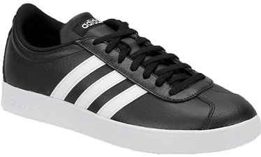 Adidas VL Court 2.0 B43814 Black/White 45 1/3
