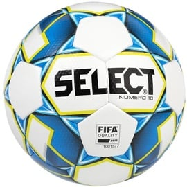 Select Numero 10 FIFA 2019 Ball White/Blue Size 5