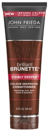 Matu kondicionieris John Frieda Brilliant Brunette Visibly Deeper Conditioner, 250 ml