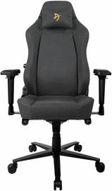 Spēļu krēsls Arozzi Primo Woven Fabric Black/Grey/Gold