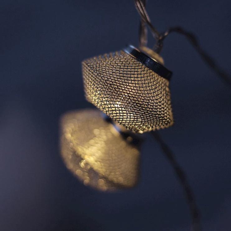 Elektriskā virtene DecoKing Morocco LED, 10 gab.