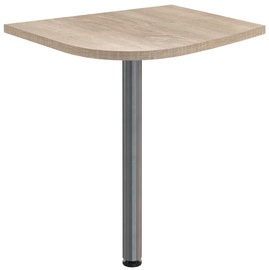 Skyland Offix New OKD 64 Table Extension 58x64x2.5cm Right Light Sonoma Oak