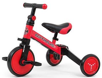 Трехколесный велосипед Milly Mally Optimus Ride On 3in4 Red